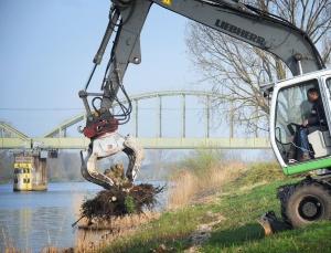 RWS werkt aan Batenburgse oevers