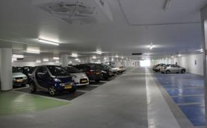 Veilige parkeergarage NS-station